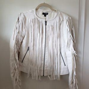 Womens Fringe Jacket